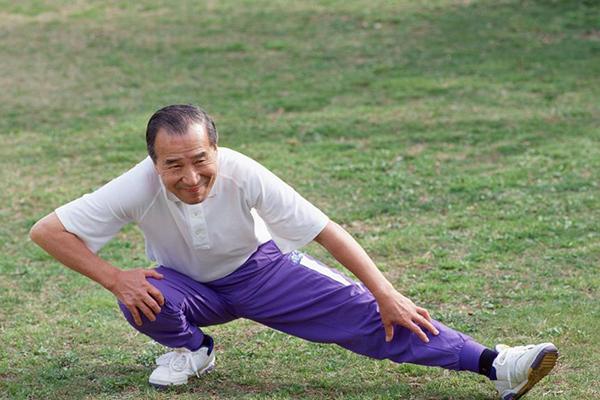 """老人健身,做到""""一三五七九"""""""